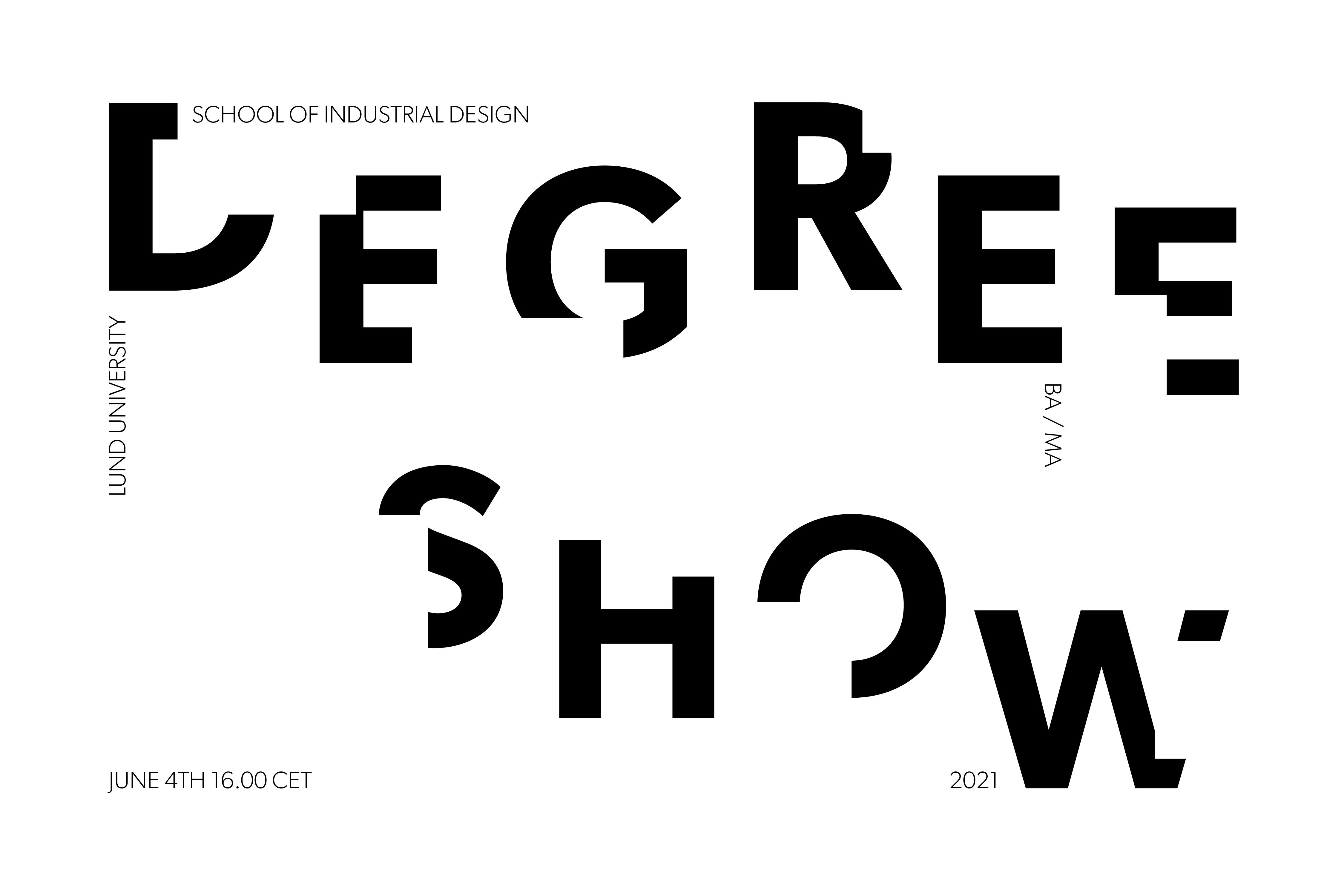 BA/MA Degree Show 2021 - June 4th 16.00 CET